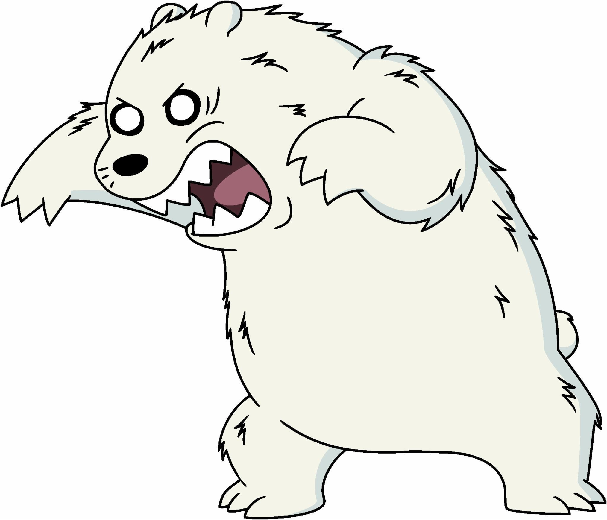 Crazy Ice Bear