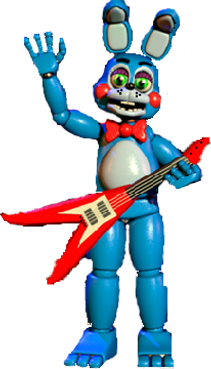 from fnaf 2 toy bonnie