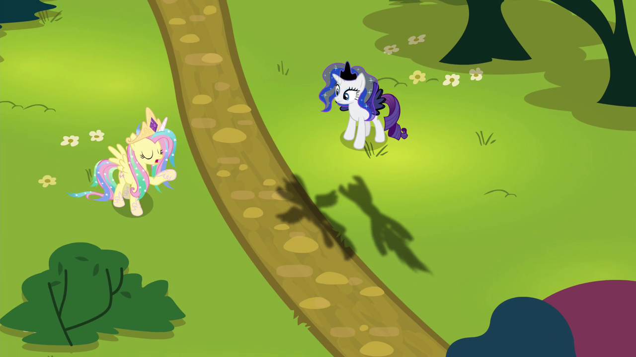 Flutterstia and Nightmare Rarity