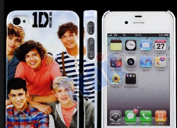 My iPhone with 1D case