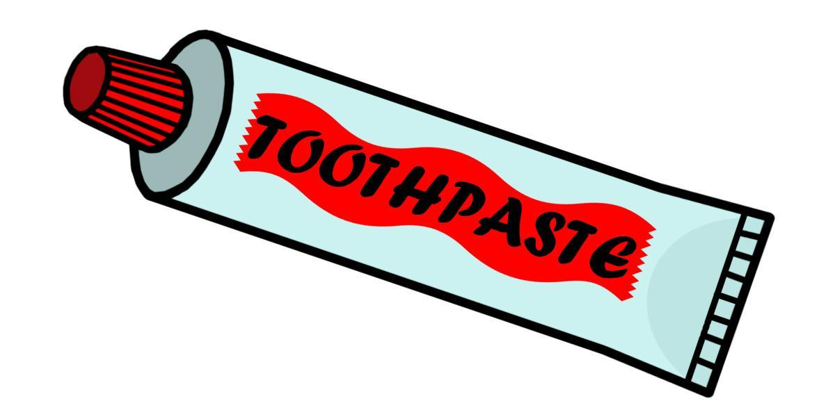 Toothpaste!!!