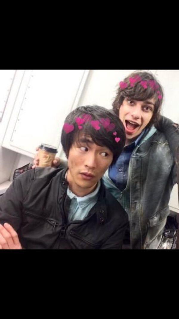 Christopher Larkin (the dude in the front)