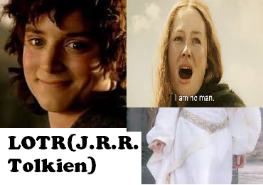 Frodo Baggins/Éowyn (source: in the picture:-))