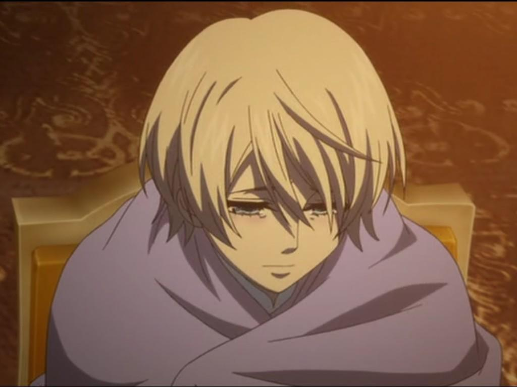 Cuddle Alois while he is crying?