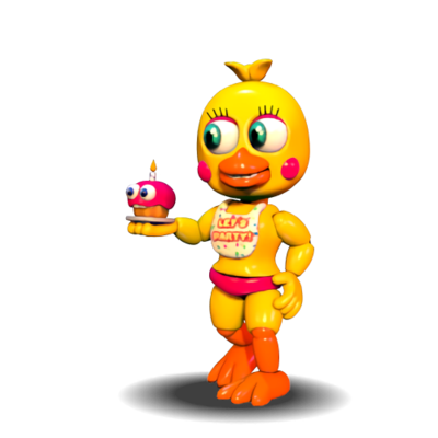 FnaF World Toy Chica
