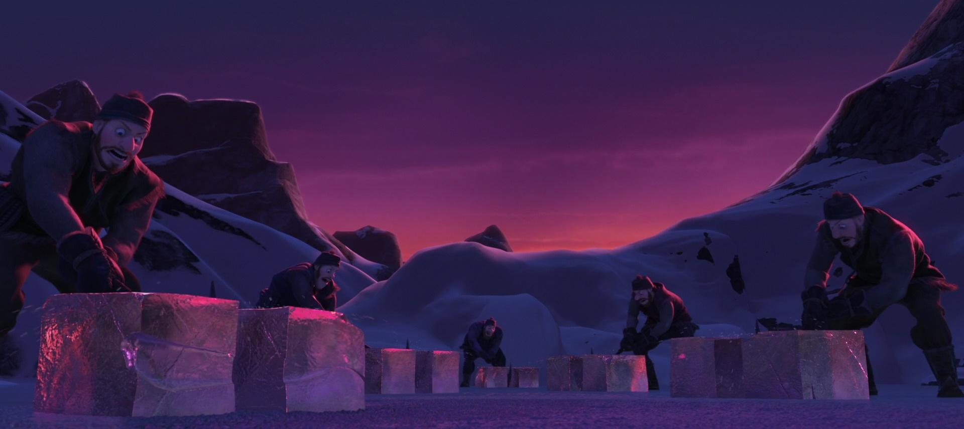 Frozen Heart (Young Kristoff, young Sven, and ice miners)