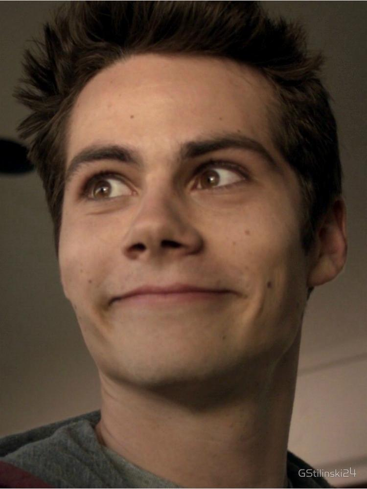 Dylan O'Being himself on camera (Teen Wolf)