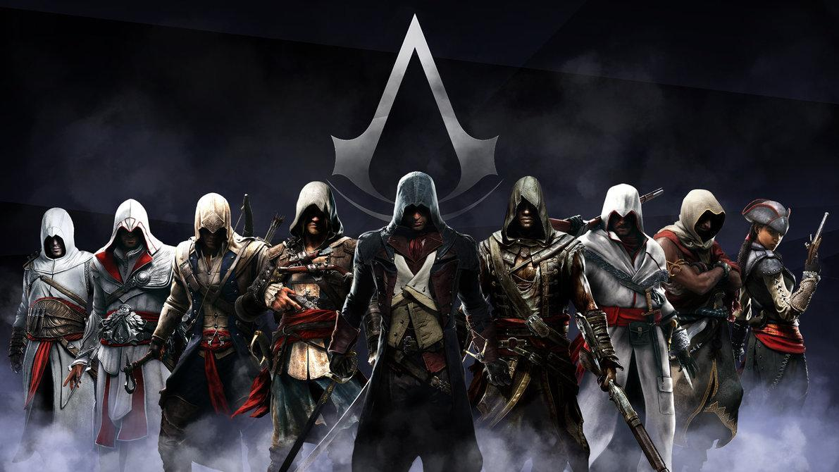 play all of the Assassins Creed games from start to finish without stopping