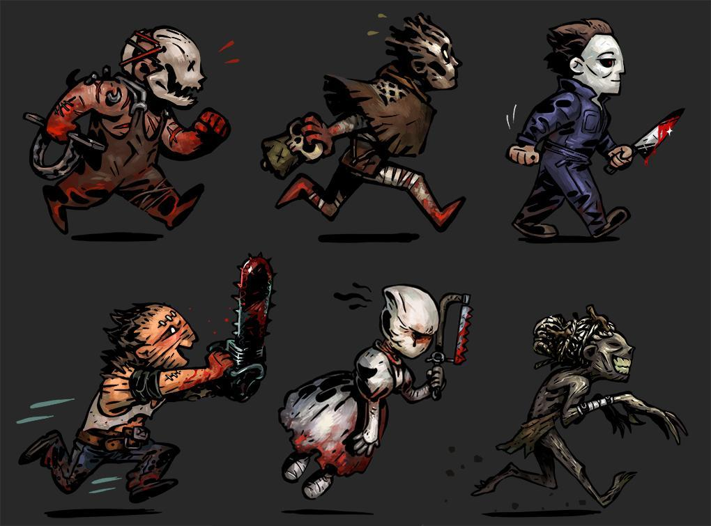 Killers from dead by daylight