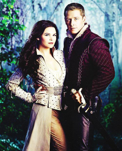 Snowing (Snow White and Prince Charming)