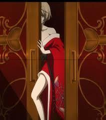 See Alois in a red kimono?