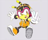 NO! he is SO cute! Espio: hes adorable but.. Vector: he's a little annoying X3