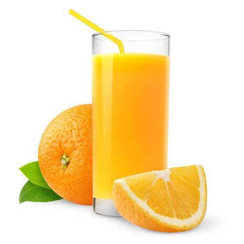 drink orange juice, expecting it to be milk