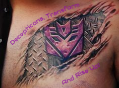 Decepticons, Transform And Rise Up!