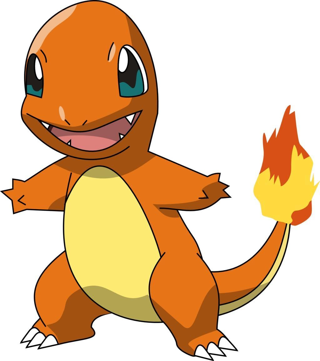 Charmander, the fire-type Pokemon!