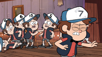 "Gravity Falls: ""Double Dipper"": The twins find a copy machine that doesn`t just copy paper..."