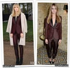 who wore Burberry better Suki water house