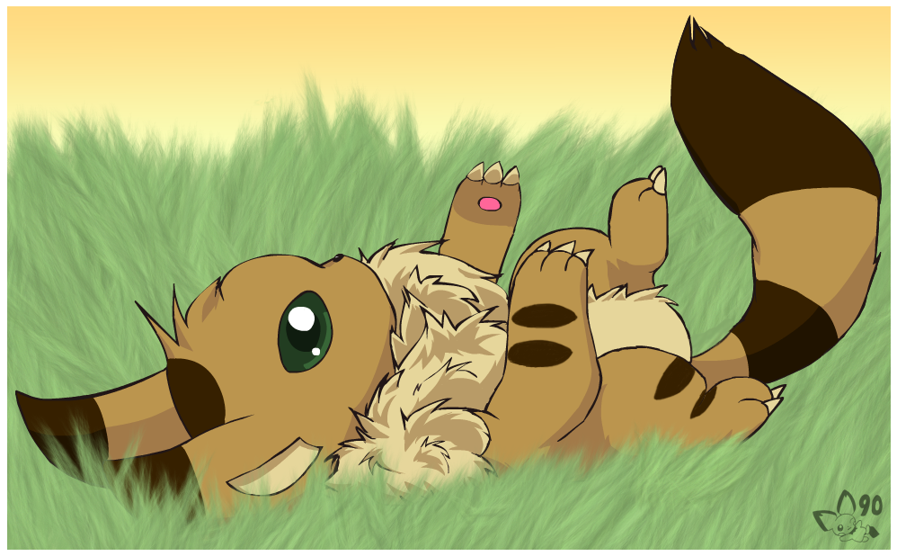 Fox-Squirrels from Nausicaa of the Valley of the Wind and Castle in the Sky!