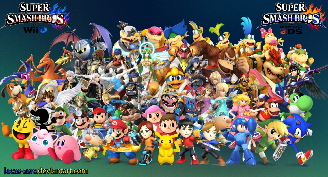 Super smash bros Wii u/3ds