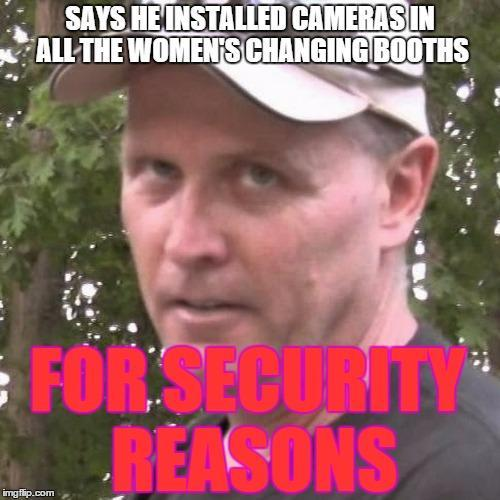 For Security Reasons