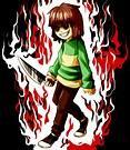 Cold blooded killer all the way! (Chara)