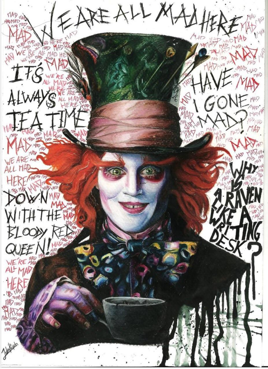 Mad Hatter (yeah it is a song)