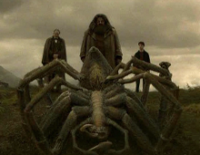 I like the frightening yet tame-able Arogog. Even though Hagrid was the only person he would spare.