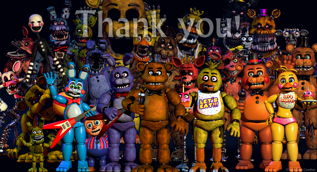 Five Nights At Freddy's by The Living Tombstones