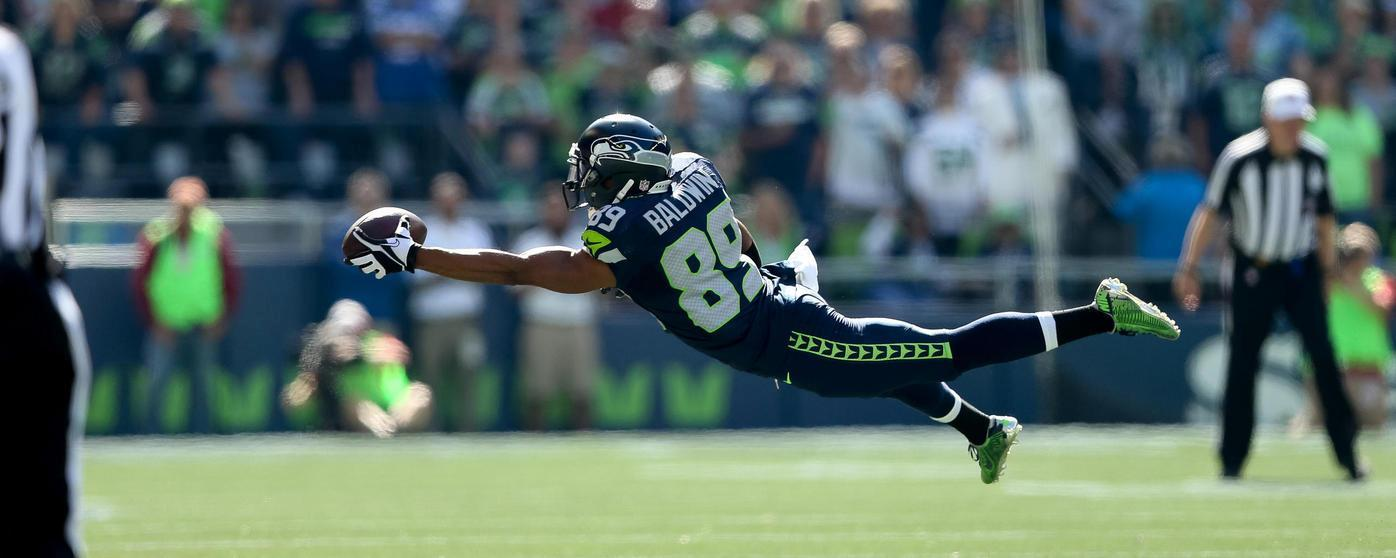 Doug Baldwin's diving one handed catch