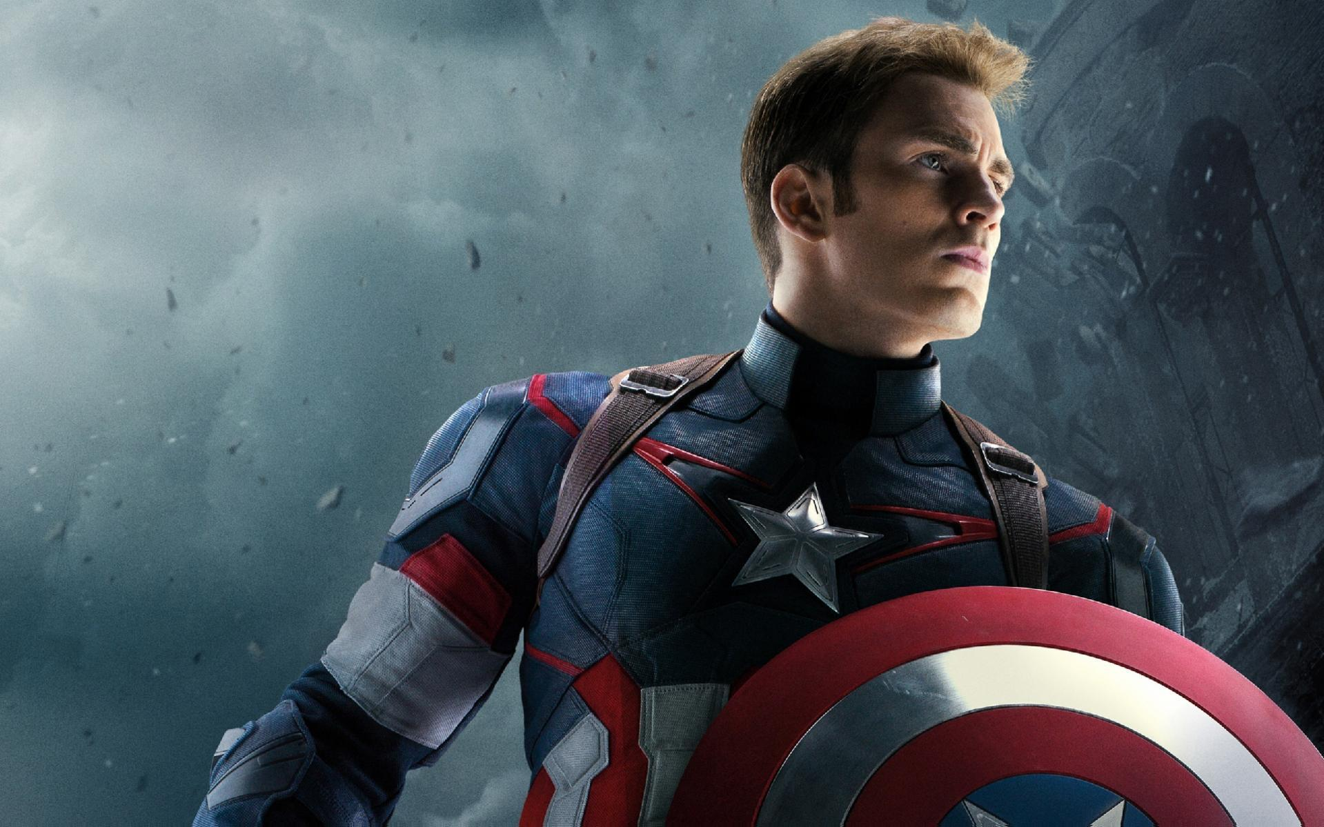 Regular Captain America ( Hero side like SHIELD)