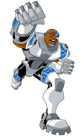 is cyborg your favorite the one who says booya