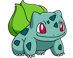 Bulbasaur, the grass-type Pokemon!