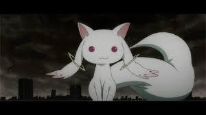 Kyubey- and if you've never seen this anime, don't pick him. HE'S A TRAITOR!