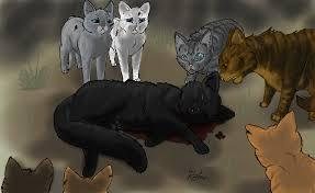 Hollyleaf sacrificing herself and saving Ivypool