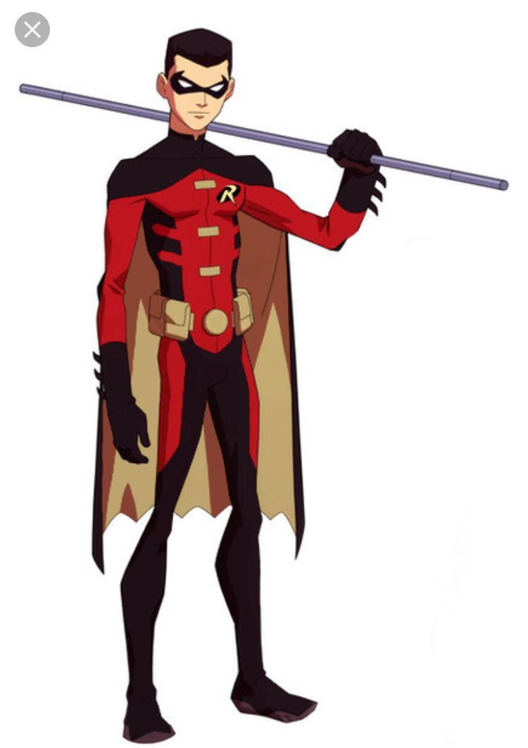 Tim Drake- trained by Nightwing; aka Red Robin (third Robin)