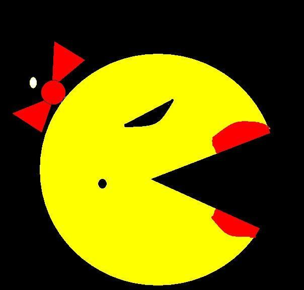 Mrs. pac man (dont pick this one XD)
