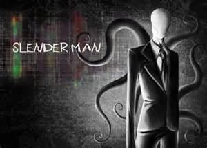 Slenderman! Slenderman: Well uhh thank you my child...