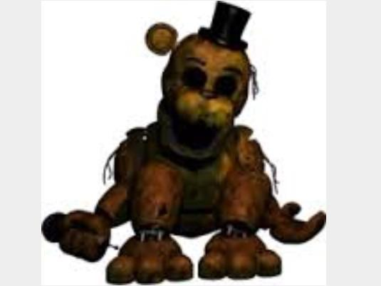 Withered/Old Golden Freddy/Yellow Bear/Fredbear