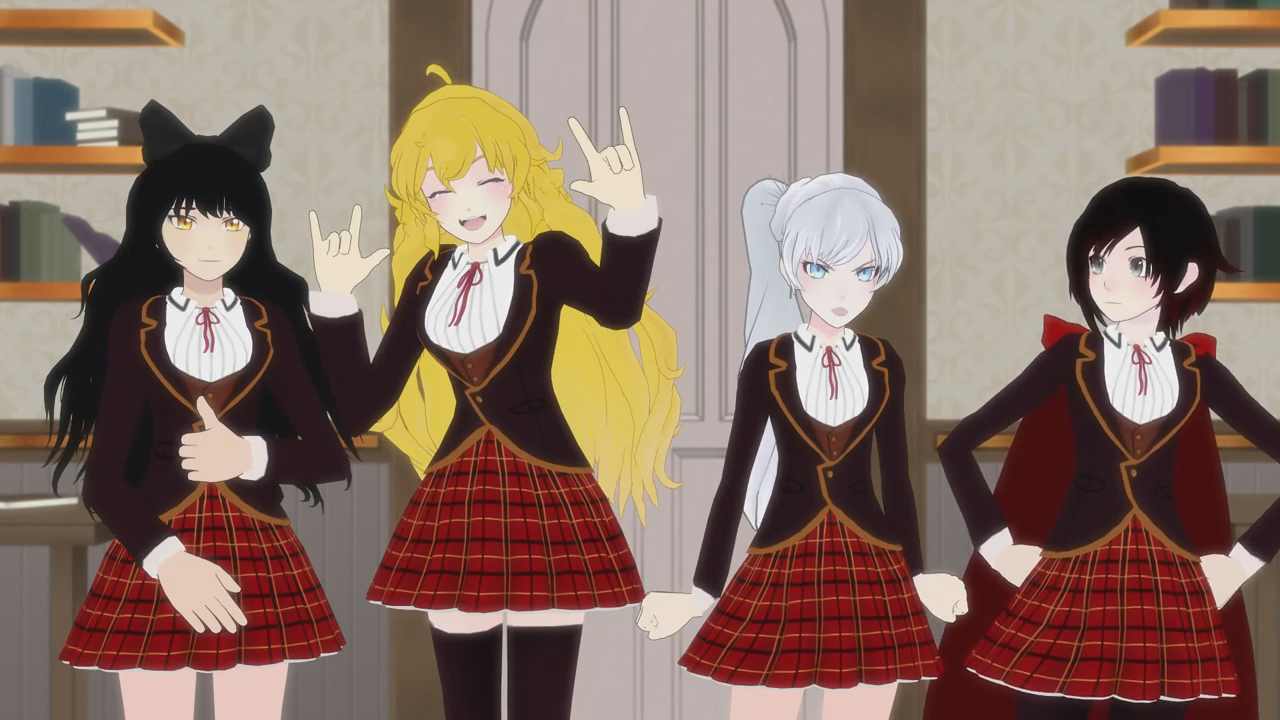 RWBY is the BEST! #RWBYFAN4LIFE (that's me right there)