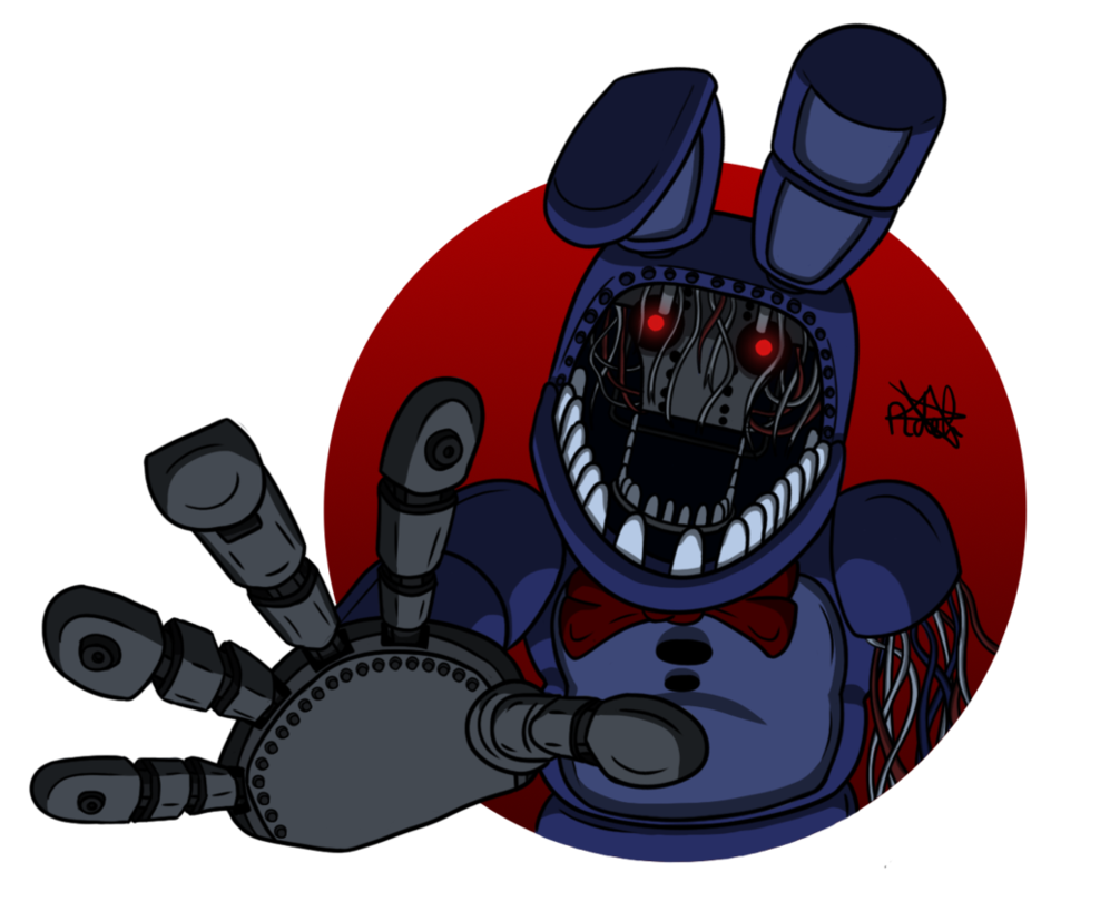 Old Bonnie (Have the same pic like Old Freddy but i want is be different.)
