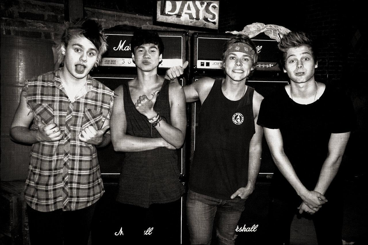 5 Seconds Of Summer...