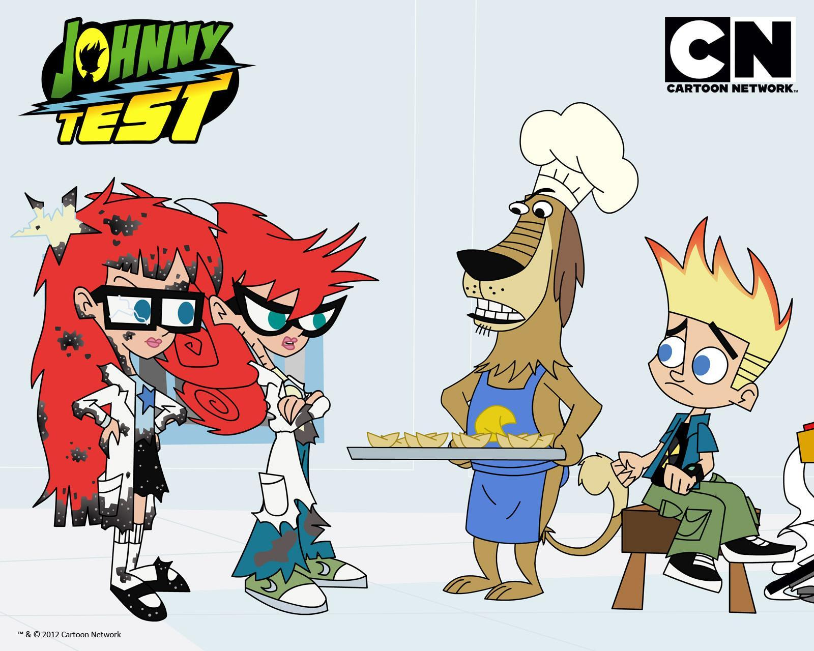 Johnny Test...