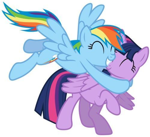 Twilight x Rainbow Dash