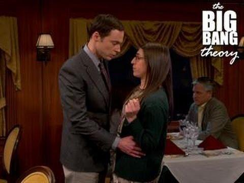 The Big Bang Theory - Sheldon Kisses Amy