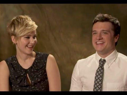 'Who Said That' with 'Catching Fire' Cast