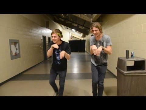 Ratliff and Rocky's Dark Horse Dance!