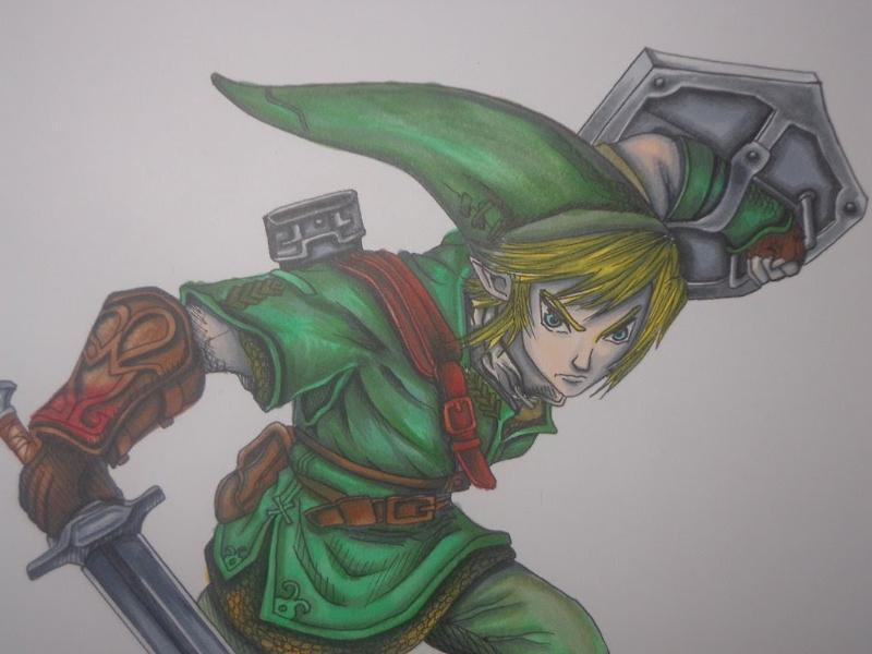 How to draw Link from Twilight Princess
