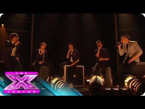 "One Direction's ""Little Things"" - THE X FACTOR USA 2012"