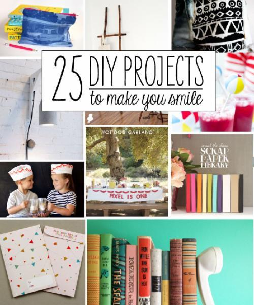 25 Fun DIY Projects to Make You Smile | Babble