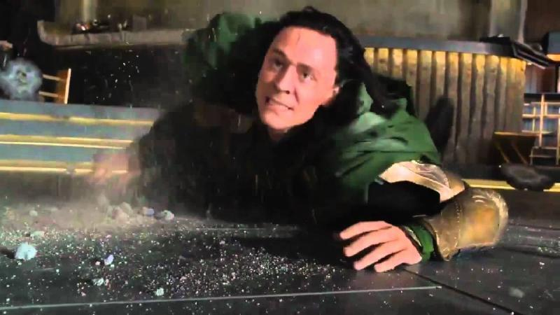 "Hulk beats Loki ""Puny God"" Funniest Moment From The Avengers (2012)"